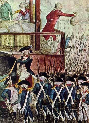 L'execució de Robespierre